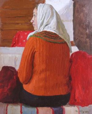 Kugach, Yuri P.- Study to a painting